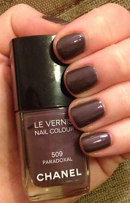 Chanel, Chanel Paradoxal, Chanel Le Vernis Nail Colour, nail polish, nail varnish, nail lacquer, manicure, mani monday, #manimonday, nails