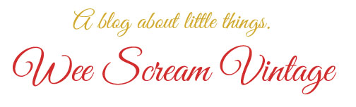 Wee Scream Vintage