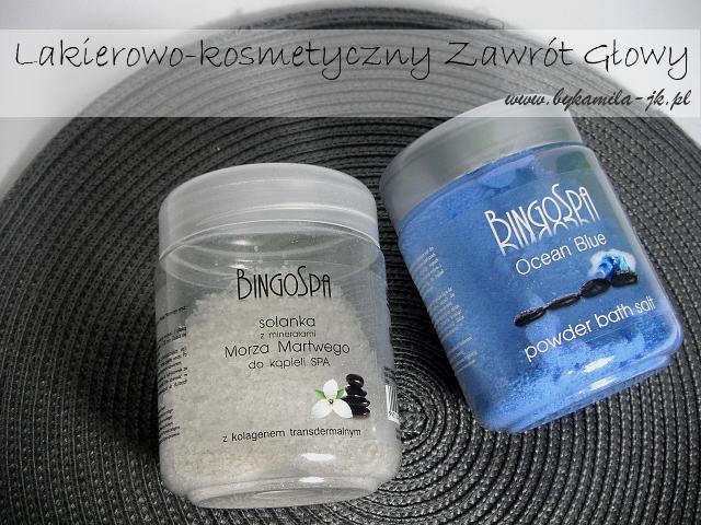 Sól do kąpieli Bingo Spa solanka z minerałami Morza Martwego Ocean Blue