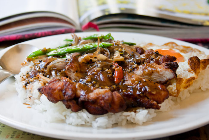 3 hungry tummies chicken chop with black pepper sauce on rice chicken chop with black pepper sauce on rice malaysian monday 89 forumfinder Gallery