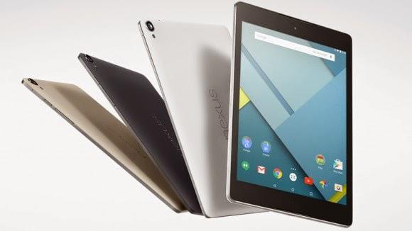 dijual Google Nexus 9 Terbaru