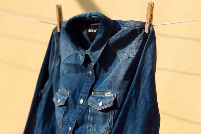 Camisa Denim / Denim Shirt: CALIXTE by MELTIN' POT