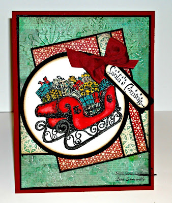 Stamps - North Coast Creations Santa's Sleigh