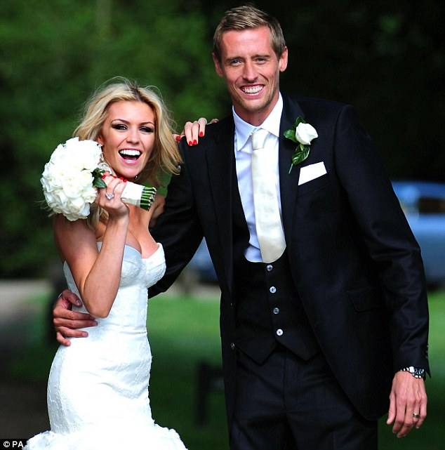 model and celebrity news abbey clancy and peter crouch