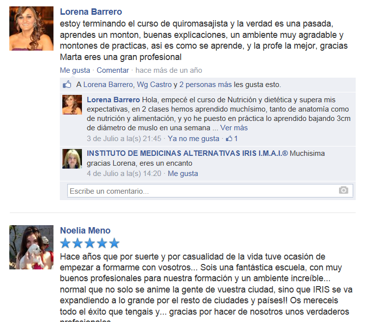 https://www.facebook.com/Iris.IMAI?sk=reviews