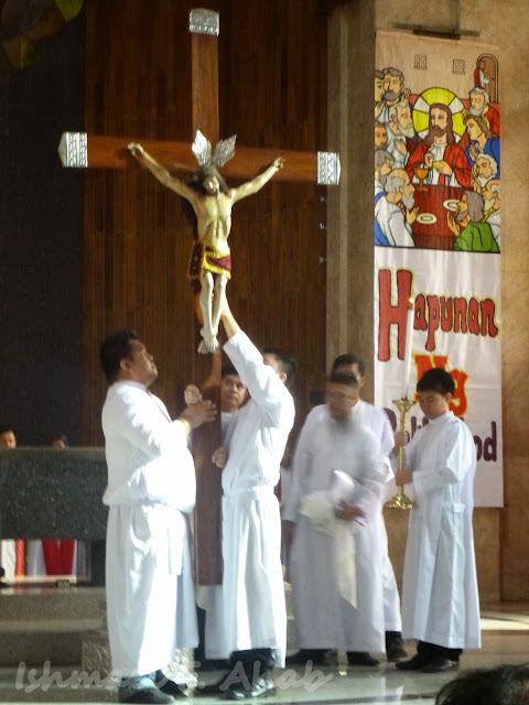 Image of the crucified Christ
