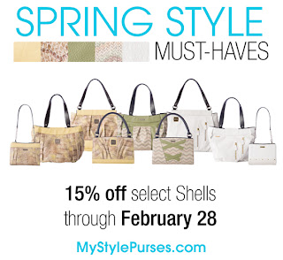 PURSES!  Select Spring Styles on Sale Now at Miche Bags