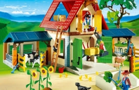 5 fermes Playmobil à gagner