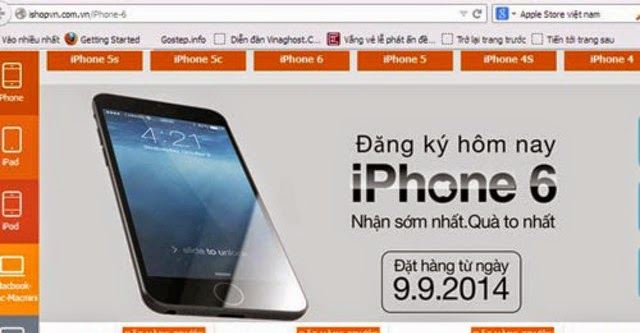 """Sốt"" iPhone 6 tại Việt Nam"