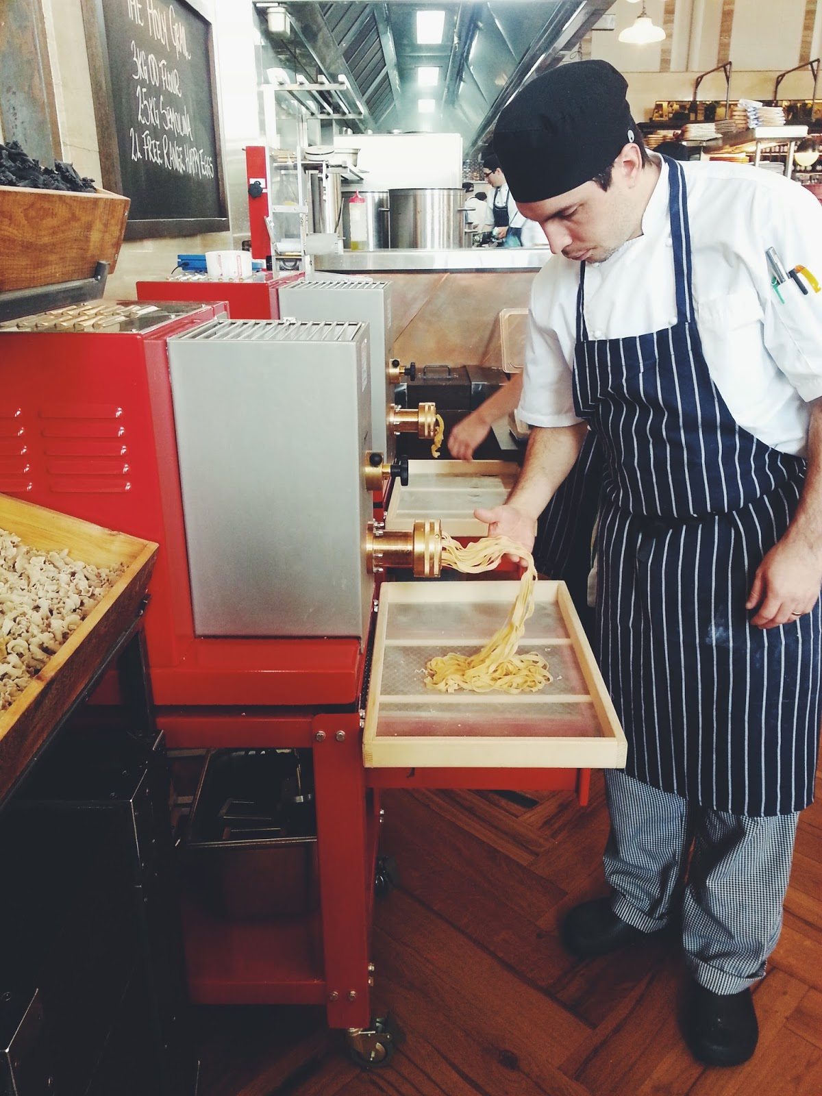 Adelaide, Jamie's Italian, Fresh Pasta