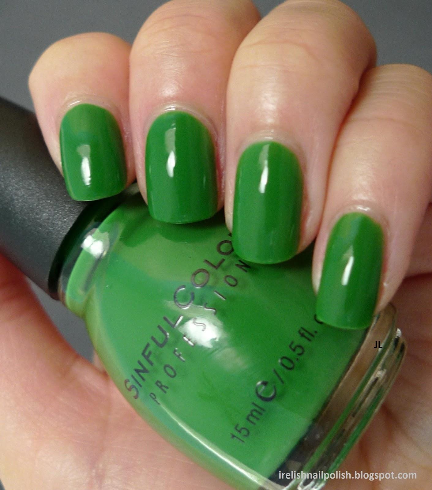 I Relish Nail Polish!: Sinful Colors - Exotic Green