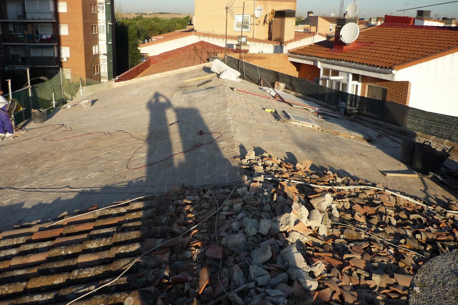 Rehabilitaci n de edificios en getafe reforma tejado en - Reformas getafe ...