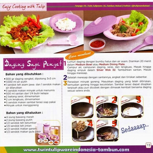 "Chefs ""Corner"" : Daging Sapi Penyet | Mei - Juni 2014"