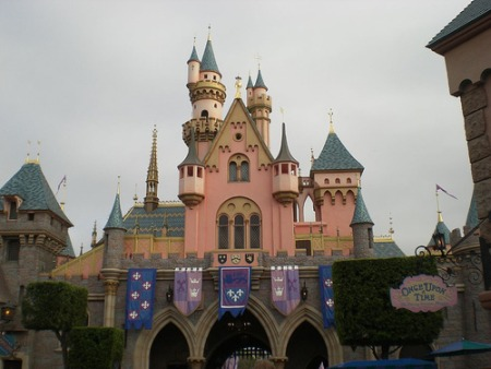 Disneyland Los Angeles Park day view