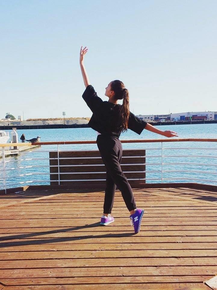 ballet, dance, water, ocean, california, beach, fashion, new balance, tendu, audrey sides, fashion blog, fashion blogger, sf fashion blogger, style, wasian, japanese
