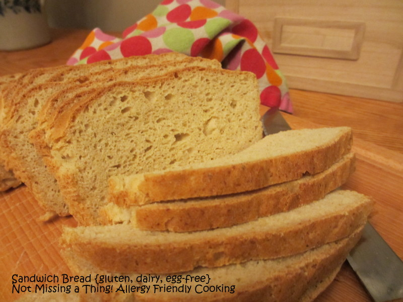 ... Friendly Cooking: Awesome Sandwich Bread {gluten, dairy and egg-free
