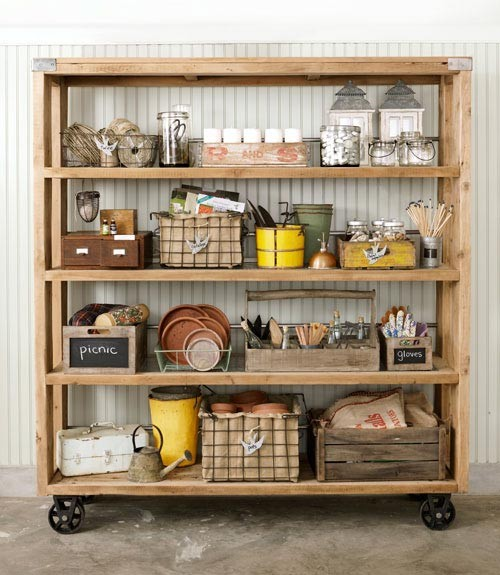 Garage Storage Shelves On Wheels