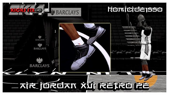 NBA 2K14 Air Jordan XVI Retro PE Shoes Mod