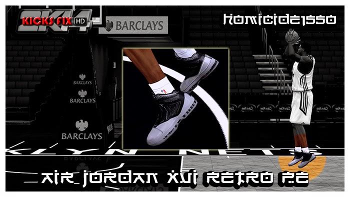 NBA 2K14 Air Jordan XVI Retro PE Shoes Mod