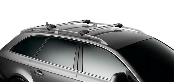Thule WingBar Edge on vehicle