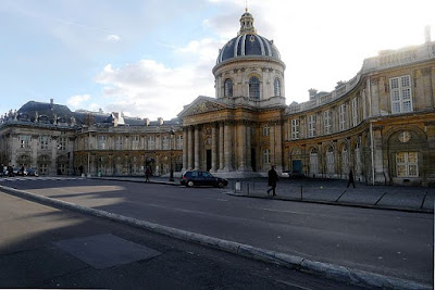 """P1070501 Paris VI institut de France rwk"" by Mbzt - Own work. Licensed under CC BY 3.0 via Wikimedia Commons - http://commons.wikimedia.org/wiki/File:P1070501_Paris_VI_institut_de_France_rwk.JPG#/media/File:P1070501_Paris_VI_institut_de_France_rwk.JPG"