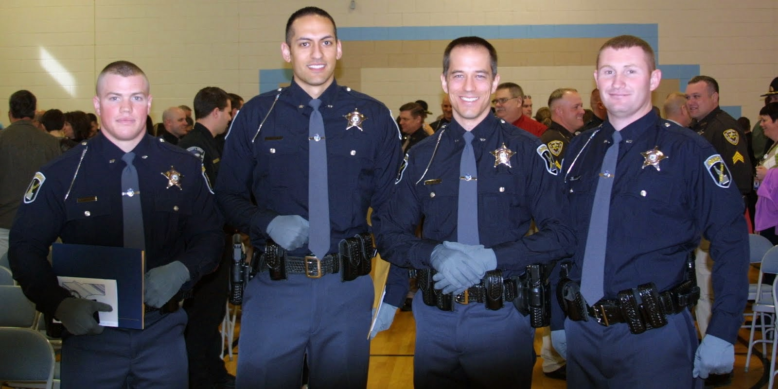 Idaho State Police Recruits After POST Graduation