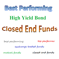 Best Performer High Yield Bond CEFs