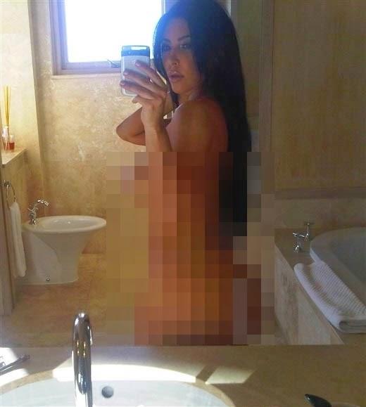 Gambar Bogel Dikatakan Milik Kim Kardashian Tersebar