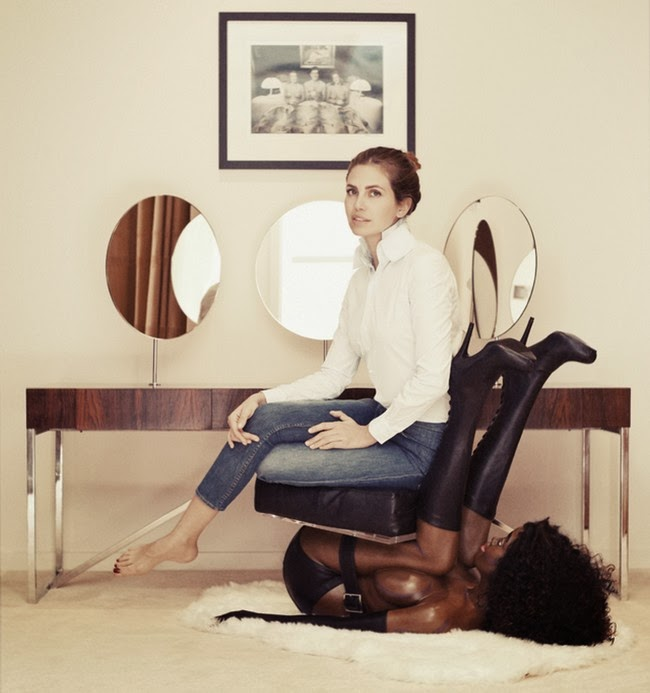 The Infamous Human Chair Photo Racist or Misunderstood?  sc 1 st  Mirror On America & The Infamous Human Chair Photo: Racist or Misunderstood? | Mirror On ...