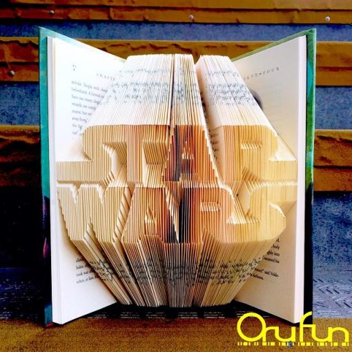 Incríveis esculturas criadas utilizando livros com suas páginas dobradas
