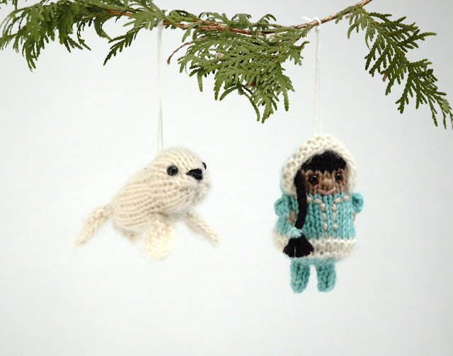 Knitting Kfbf : Fuzzy thoughts inuk and baby seal