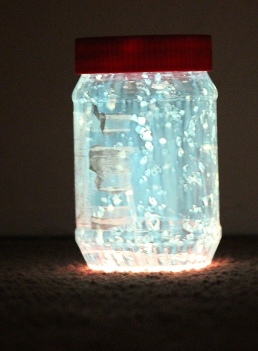 Apologise, but, Fairy mason jars with glow sticks question