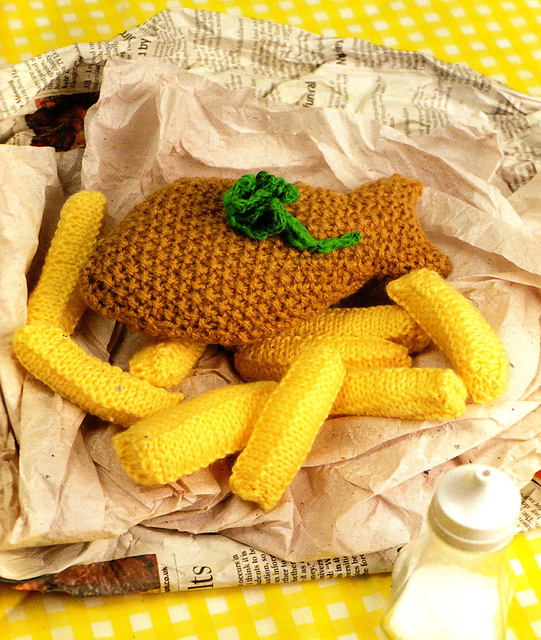 Teen granny twit knit club project 4 food for Where can i get fish and chips near me