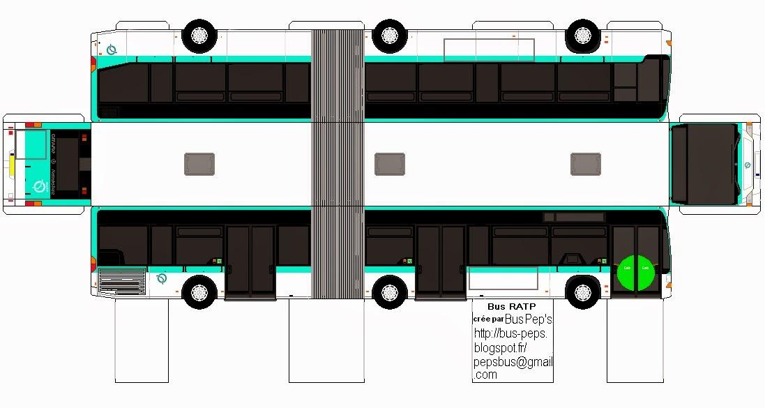 Как сделать из картона автобусы