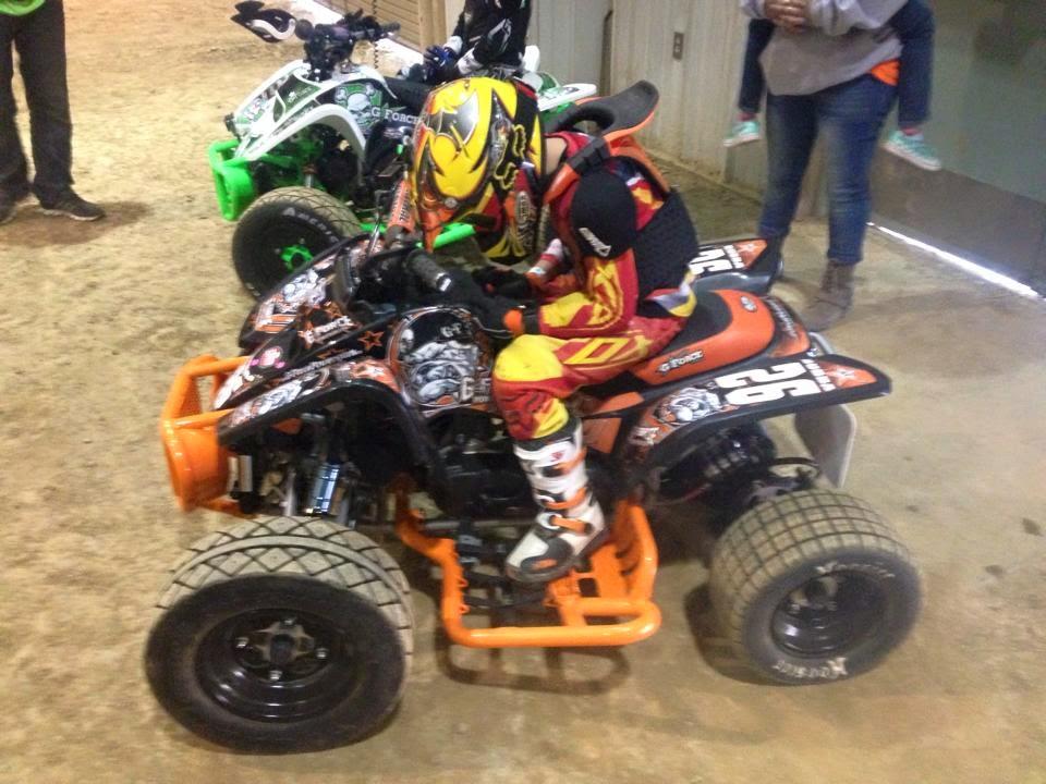 John Brda #DRRracing #DRR #DRRUSA, black and orange, graphics, John Brda,Duquin, winter jam, 2nd place, 50cc