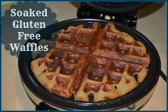 Soaked Gluten Free Waffles | Homemade Dutch Apple Pie