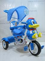 1 Sepeda Roda Tiga GoldBaby F7-1 Bebek in Blue