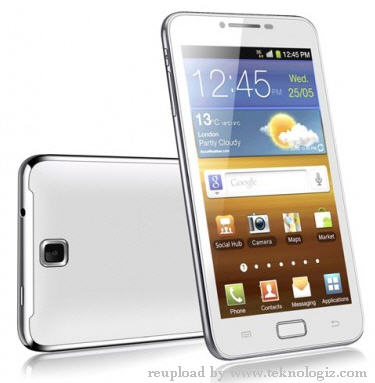 IMO Snow (S68) smartphone Android 4.0 ICS - www.teknologiz.com