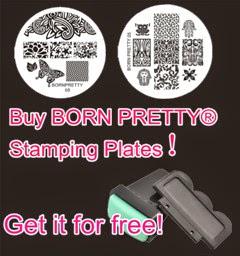 Born Pretty® Stamping Plates!