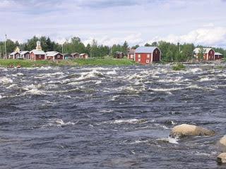 Sungai Torne (dari utara Swedia dan Finlandia)
