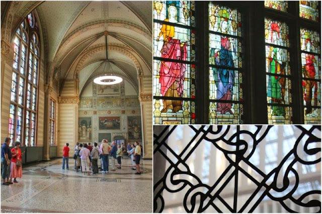 Museo Rijksmuseum en Amsterdam – Techo abovedado y vidrieras