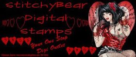 Stitchy Bear Digital Stamps