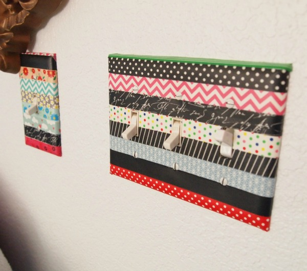 I love our new light plates inspired by Washi Tape Crafts from Amy Anderson.