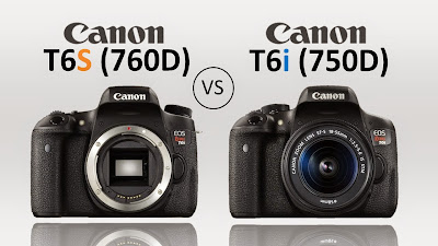 Canon EOS 750D vs Canon EOS 760D, Canon Rebel T6i vs Canon Rebel T6S, Canon EOS 750D review, Canon EOS 760D review, EOS 750D specs, EOS 760D specs, Canon DSLR camera