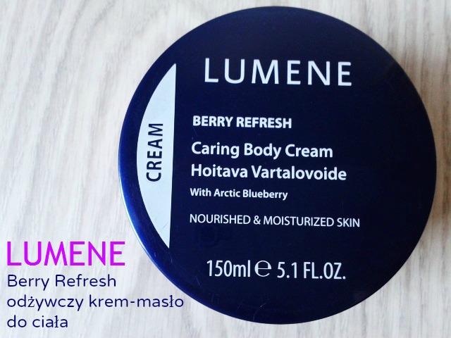 LUMENE - Berry Refresh odżywczy krem - masło do ciała .