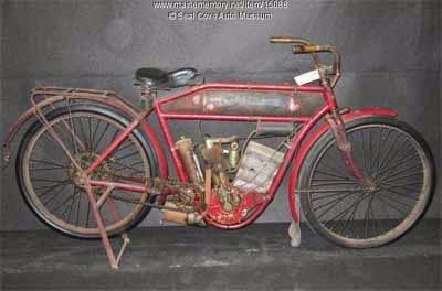 gambar sepeda motor jadul pertama