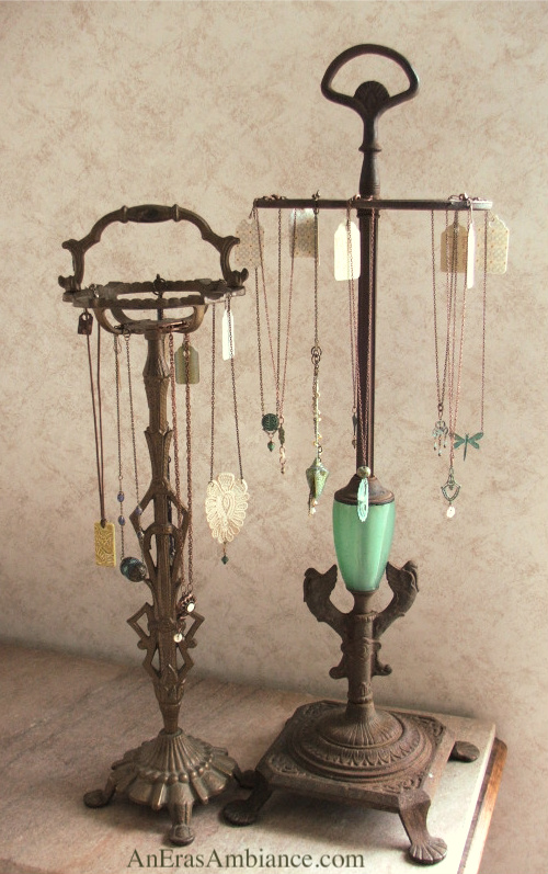 Exhibition Stand Vintage : A vintage artist finding quot the upcycled jewelry display