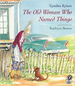 Old Lady Who Names Things Car Dog Picture Book