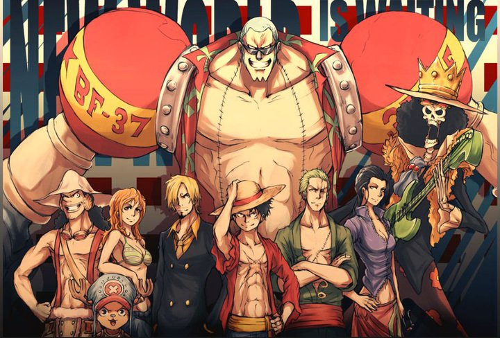 One Piece: April 2012