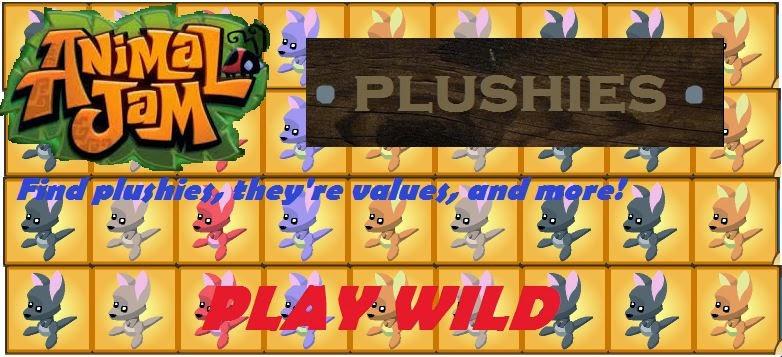 Animal Jam Plushies!